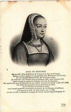 CPA Anne de Bretagne Royalty Nobelty (314410)