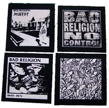 BAD RELIGION EARLY YEARS 80-85 suffer no control punk rock Jacket PATCH set
