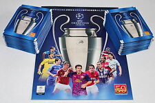 Panini UEFA CHAMPIONS LEAGUE 2011/2012 11/12 – 100 TÜTEN PACKETS + EMPTY ALBUM