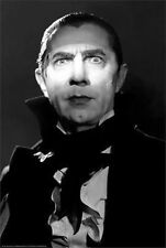 BELA LUGOSI - DRACULA MOVIE POSTER - 24x36 SHRINK WRAPPED - 31151