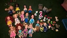 Lot of 16 Disney Princess toddler mini dolls and accessories