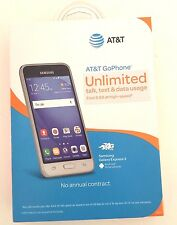 NEW Unlocked GSM AT&T T-Mobile Samsung Galaxy Express 3 SM-J120A 8GB 4G LTE