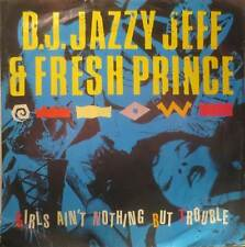 """D.J. JAZZY JEFF & FRESH PRINCE - GIRL'S AIN'T NOTHING BUT TROUBLE - 12""""    EX"""