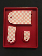 Sizzix Die Crescent Tags Combo Red Large Original DieCut Bigz Bigkick Scrapbook