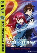 Kaze no Stigma: The Complete Series [S.A.V.E.] [4  (2012, DVD NEUF) WS4 DISC SET
