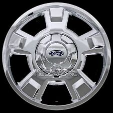 "4 Chrome 2009-2014 Ford F150 17"" Wheel Skins Hub Caps Full Aluminum Rim Covers"