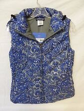 Patagonia Women's Down with It 600 Fill Down Jayne Nickel Vest Size S