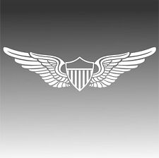 U.S. Army Aviator Pilot Wings Decal Military Aviation Sticker