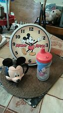 DISNEY 3 PIECE CUP,SIPPY,& TIN CONTAINER