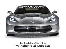 C7 Corvette Stingray 2014 + Windshield Lettering STINGRAY Script