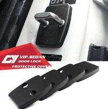 4PCS CAR DOOR LOCK RING VIP PROTECTIVE COVER KIT FIT FOR M M3 M5 M6 X5 X6 BM01