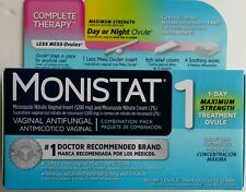 Monistat 1 Triple Action System, Combination Pack, 1-day Treatment 1 treatment