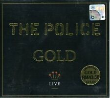 Gold-Live - Police (2005, CD NEUF)2 DISC SET