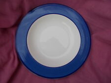 Marks and Spencer Blu RIMINI Rimmed Soup / Cereali Ciotola DIAMETRO 22cms