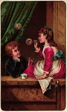 A Victorian Advertising Card - Arbuckles Ariosa Coffee - Pittsburg, PA