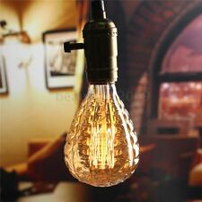 Lampadina E27 40W Grenade Vintage Antique Edison Filament LED Light Lamp 220V