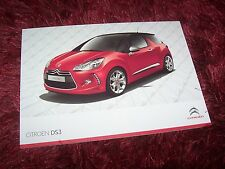 Catalogue / Brochure CITROEN DS3 2012 //