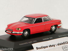 PANHARD 24 BT 1964 RED ODEON For MOMACO 1/43 Ref 004