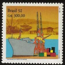 Il Brasile MNH 1992 il centesimo anniversario della porta di Santos