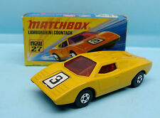 WO11/15/54 MATCHBOX / SERIE 75 / SUPERFAST / 27 LAMBORGHINI COUNTACH