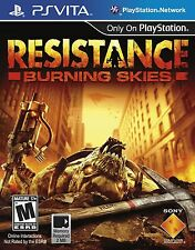 Resistance: Burning Skies [PlayStation Vita PSV, First Person Shooter FPS] NEW