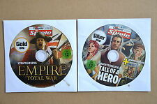 EMPIRE Total War + Tale of a Hero - Vollversionen für PC Win XP/Vista/7 NEU