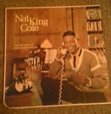 Nat king cole tell me all about yourself  with music,dave cavanaugh vinyl record