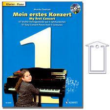 Mein erstes Konzert für Klavier - CD, NotenKlammer - ED20969 - 9783795745158