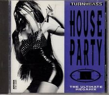 Cd  Turn up the Bass House Party 1 (1992) von Praga Khan, Quazar, Moby und Cubik
