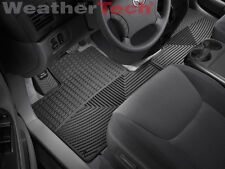 WeatherTech® All-Weather Car Mats - Toyota Sienna - 2004-2010 - Black - rows 1&2
