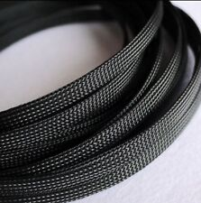 12mm Expandable Braided PET Cable Sleeving 3 weave High densely PC RC Modding
