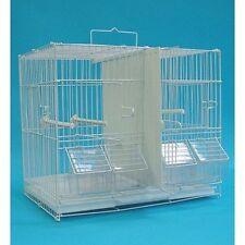 YML 2413 3/8 in Canary Finch Breeding Cage, Medium, White NEW