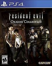 Resident Evil Origins Collection USED SEALED (Sony PlayStation 4, 2016)