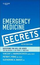 Emergency Medicine Secrets, 5e, Bakes MD, Katherine A., Pons MD  FACEP, Peter T.
