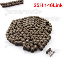 25H 146Link Chain For 43cc 47cc 49cc Mini Moto Dirt ATV Quad Pocket Bike Scooter