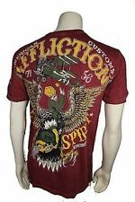 Authentic Affliction American Customs Evil Spirit Warbird T Shirt Large