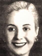 PRINT POSTER PAINTING PORTRAIT ARGENTINIAN FIRST LADY EVA EVITA PERON NOFL0071
