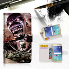 Iron Maiden Wallet Case Cover For Samsung Galaxy J5 Prime- A014