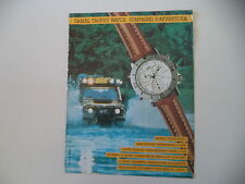 advertising Pubblicità 1991 CAMEL TROPHY WATCH SUPERCHRONO