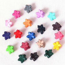 Girls Wedding Bride Plastic Flower Mini Hair Claw Clamp Hair Clip Accessory