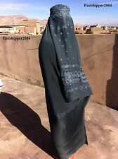 Great Afghanistan Burqa Hijab Niqab Chador Abaya Muslim Women Girl Dress Chadar