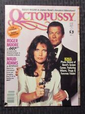 1982 OCTOPUSSY Official Movie Magazine v.1 FN Roger Moore - James Bond 007