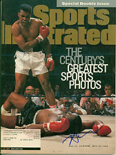 NEIL LEIFER PHOTOGRAPHER BOXING SIGNED 1999 SPORTS ILLUSTRATED W/ COA ALI