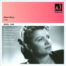 Berg: Lulu (Wien, 1949), New Music