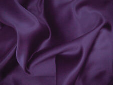 Purple Duchess Satin Bridal Wedding Dress Fabric150cm Wide SOLD PER METRE