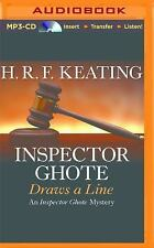 Inspector Ghote Draws a Line by H. R. F. Keating (2016, MP3 CD, Unabridged)