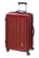 Trolley Boardcase 50 cm Koffer Trolly Handgepäck mit TSA London carbon rot