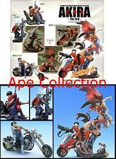 SET 6 Figure AKIRA Part 3 10cm Originali KAIYODO Japan Trading Figures RARE Mint