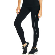 Lorna Jane Game Changer Full Length Reflective Black Workout Tights XS *NEW*