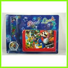 NESEST Super Mario Bros. Kids Boys Wrist Watch and Purse Wallet SET FREE SHIP